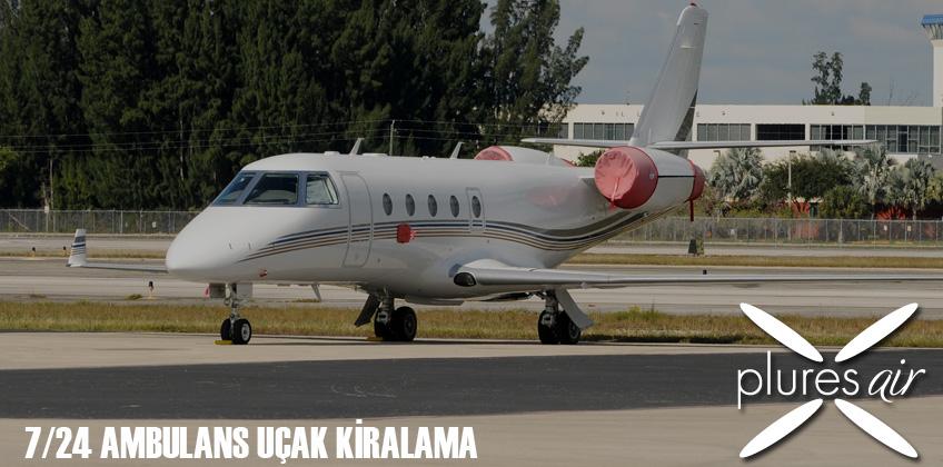 Acil Hasta Nakilleri İçin Jet Ambulans